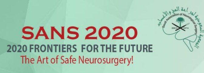 Saudi Neurosurgery conference 2020