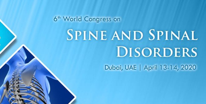 6th World Congress on Spine and Spinal Disorders