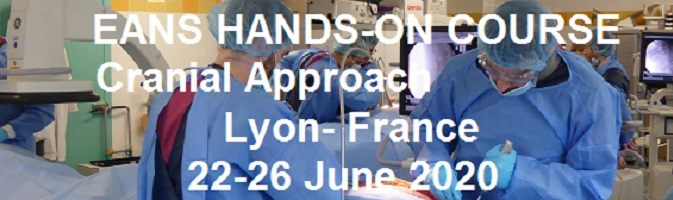 EANS HANDS-ON COURSE OF CRANIAL APPROACH