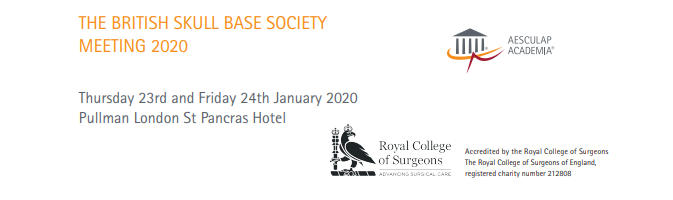British Skull Base Society Meeting 2020