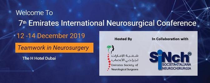 7th Emirates International Neurosurgical Conference