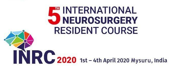 5th International Neurosurgery Resident Course