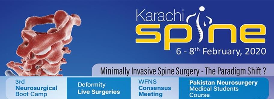 karachi spine 2020