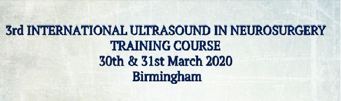 3rd INTERNATIONAL ULTRASOUND IN NEUROSURGERY COURSE