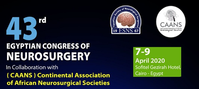 Egyptian Society of Neurological Surgery ESNS 2020 Banner