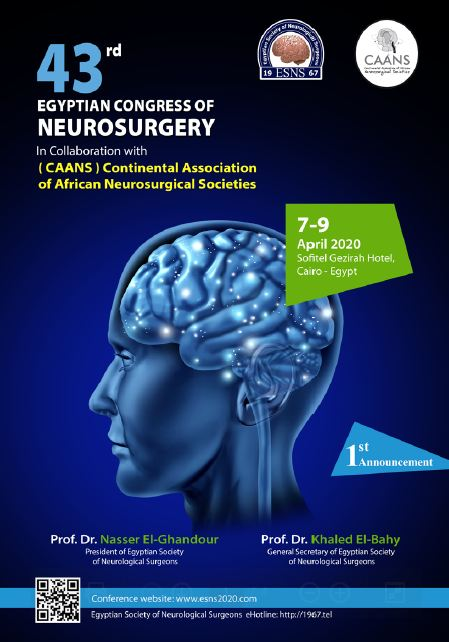 Egyptian Society of Neurological Surgery ESNS 2020