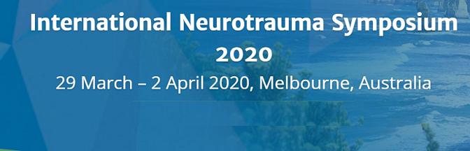International neurotrauma symposium Australia 2020Neurosurgery