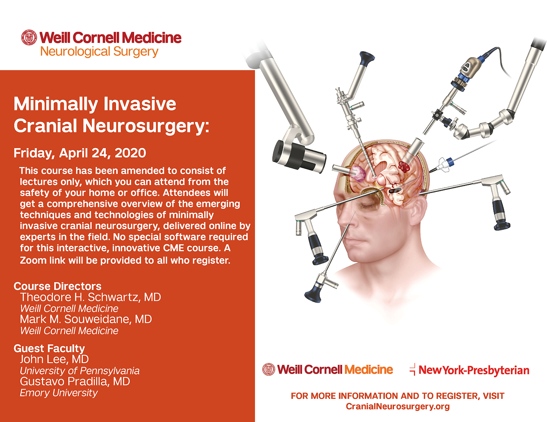 Minimally Invasive Cranial Neurosurgery course 2020