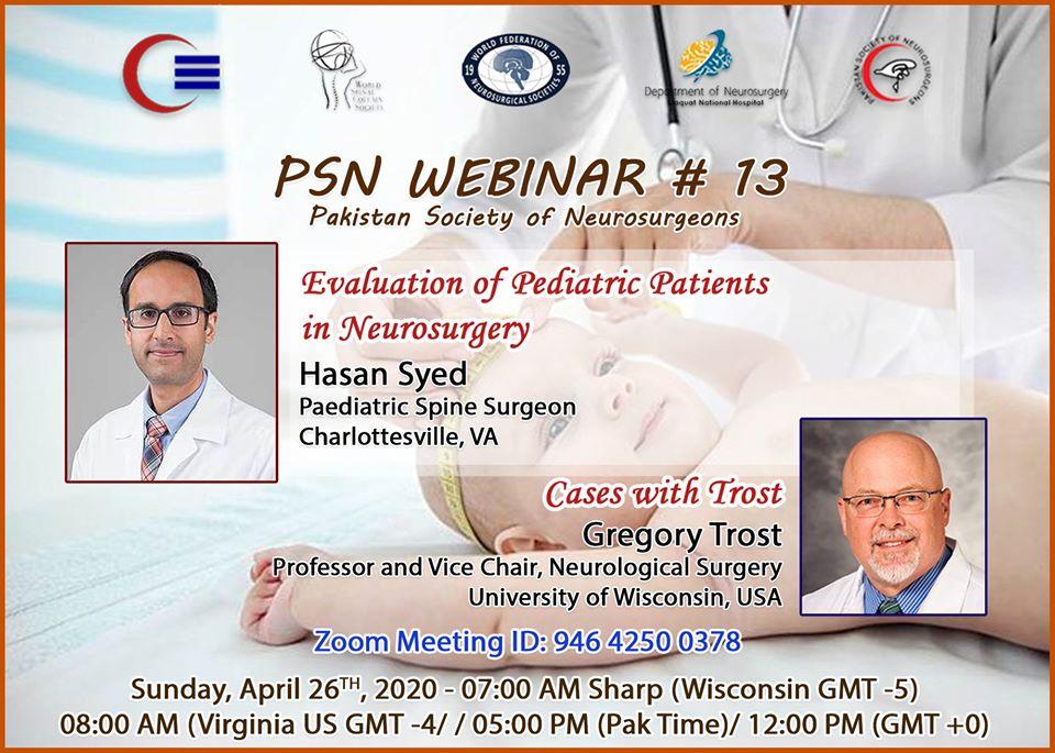 Pediatric Neurosurgery course 2020