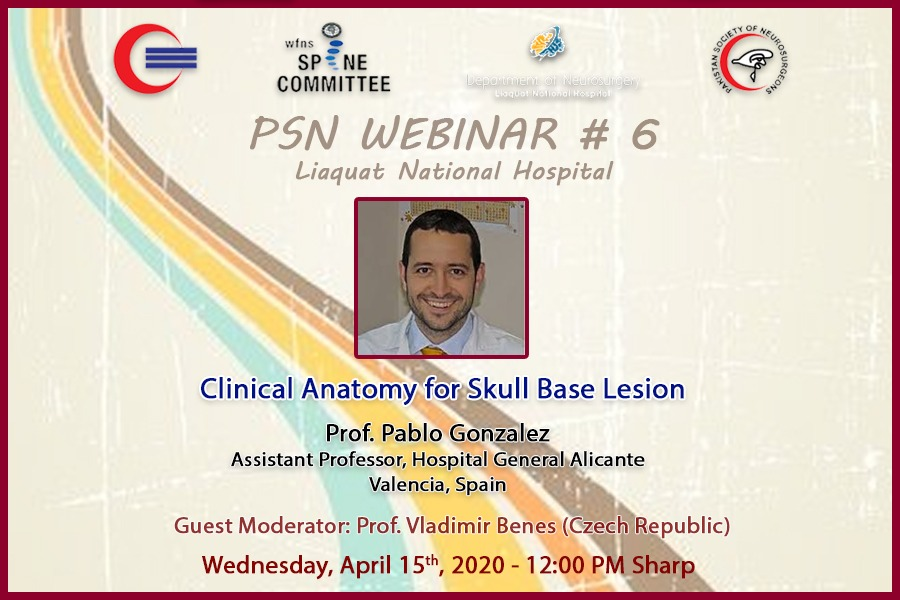 Clinical Anatomy for Skull Base Lesion 2020 neurosurgery