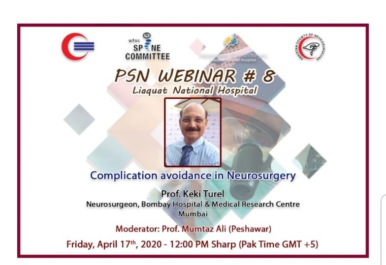 Complication Avoidance in Neurosurgery course 2020
