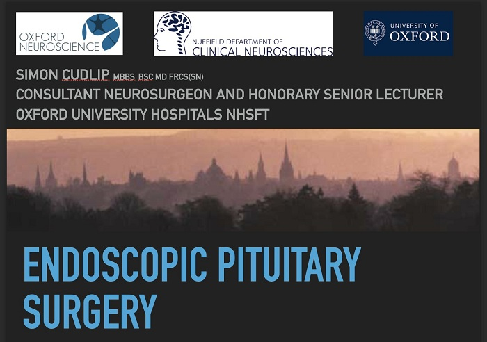 Endoscopic Pituitary surgery 2020 conference neurosurgery course