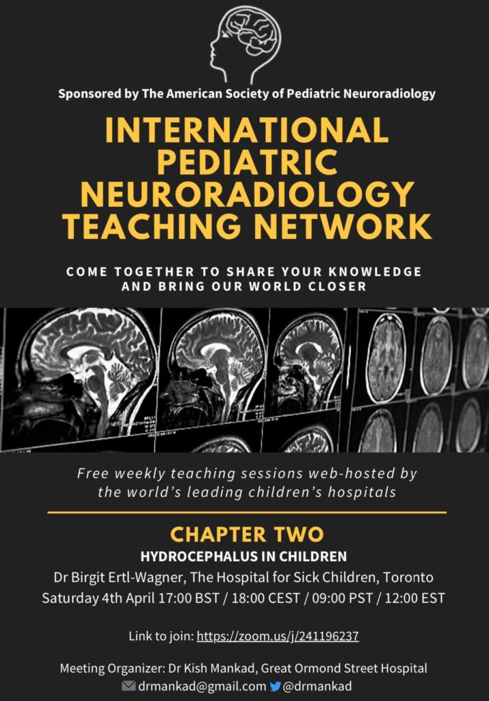 International Pediatric Neuroradiology Neurosurgery symposium 2020 1