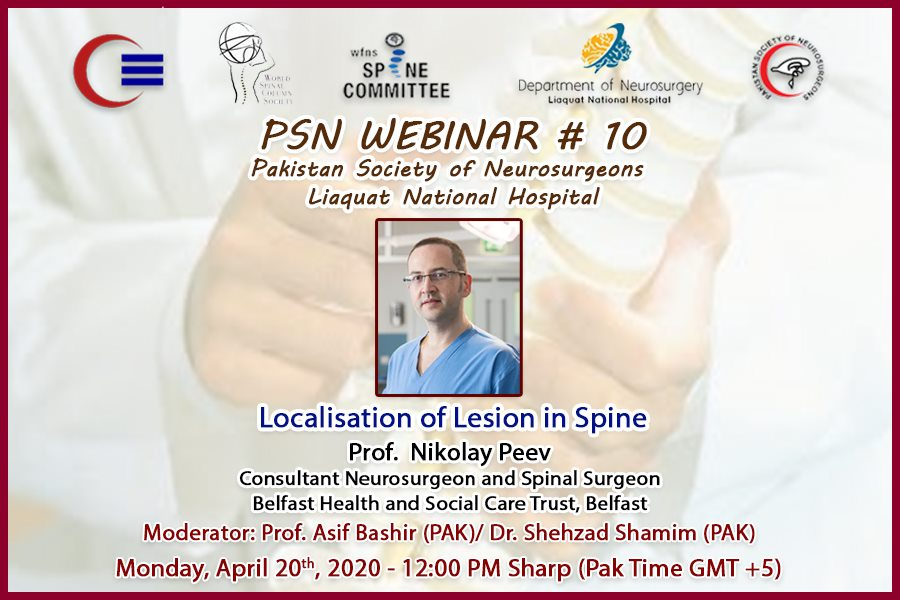 Localisation of Lesion in Spine neurosurgery 2020