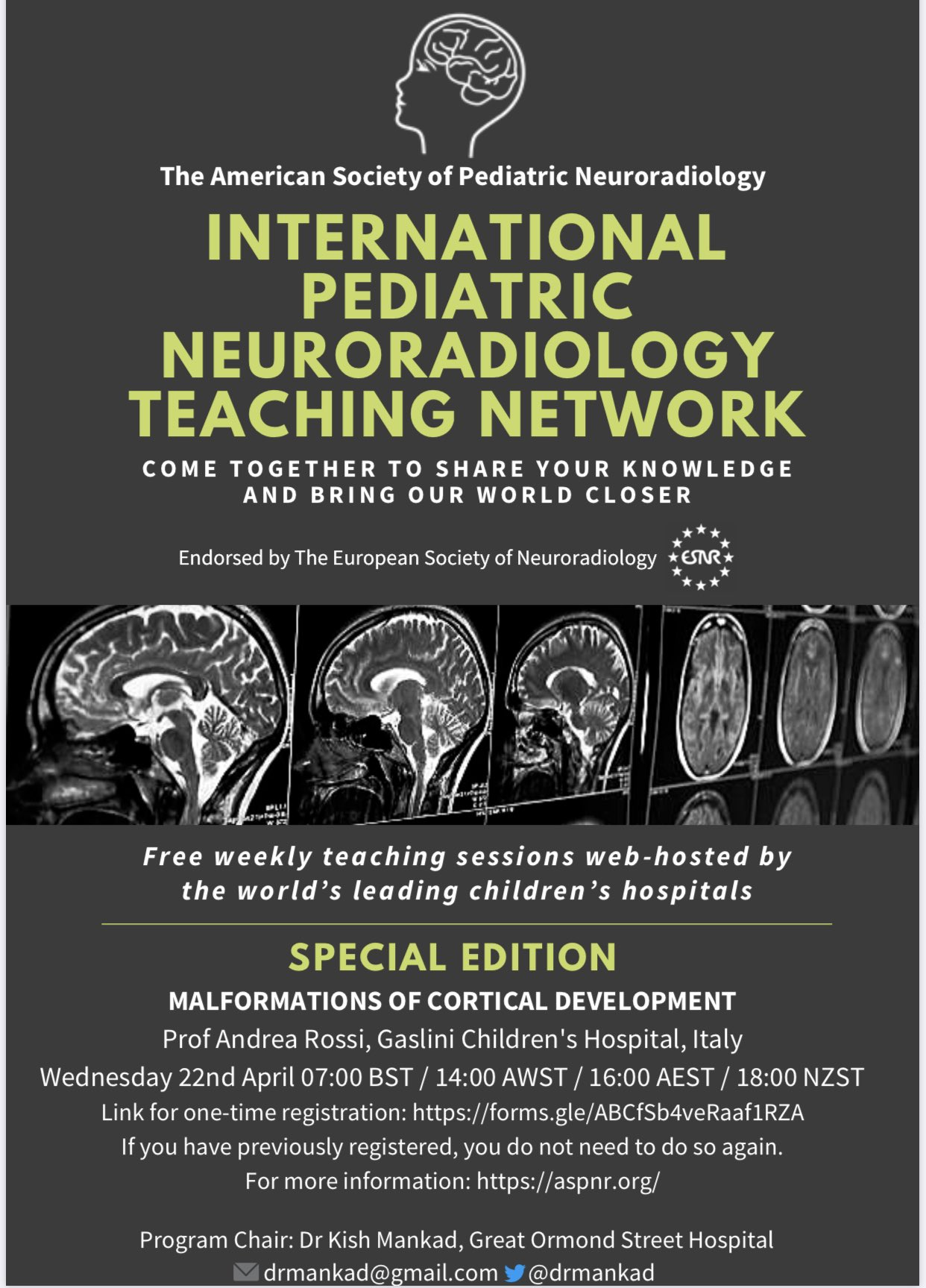 Radiology Malformations of Cortical Development