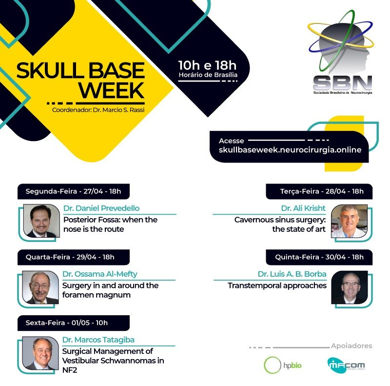 Skull Base Week course 2020