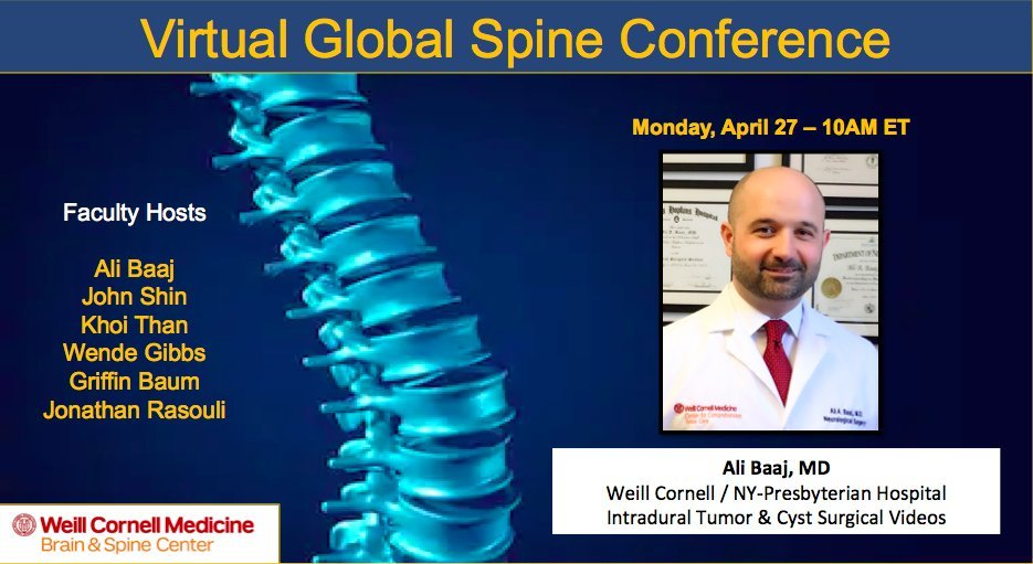 Virtual Global Spine Conference 2020 2021