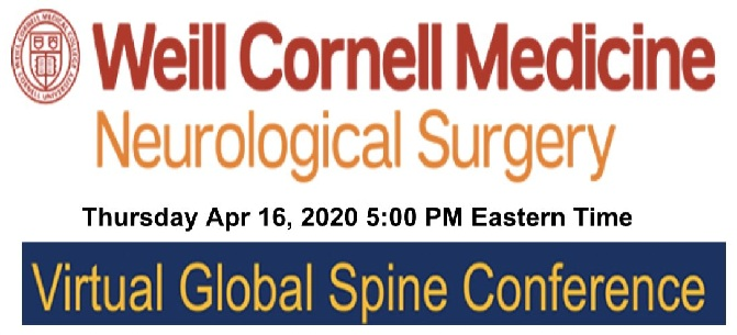 Virtual Spine Conference 2020 Neurosurgery Course 2020