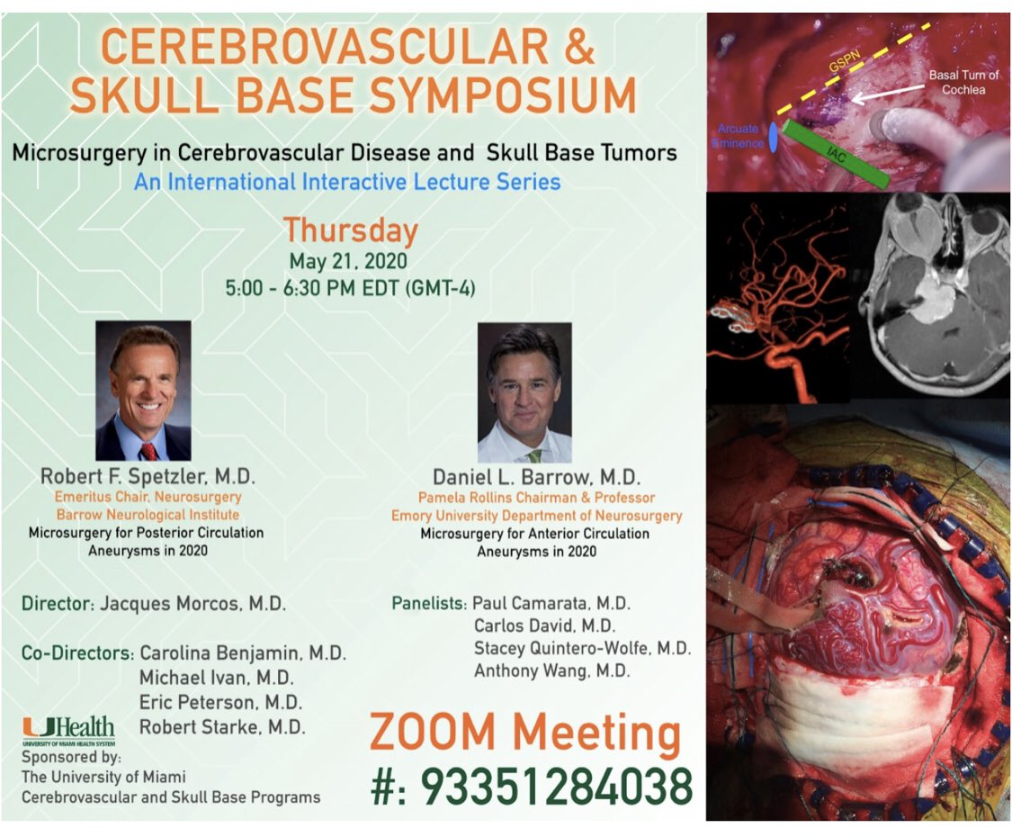 Cerebrovascular & Skull Base Symposium