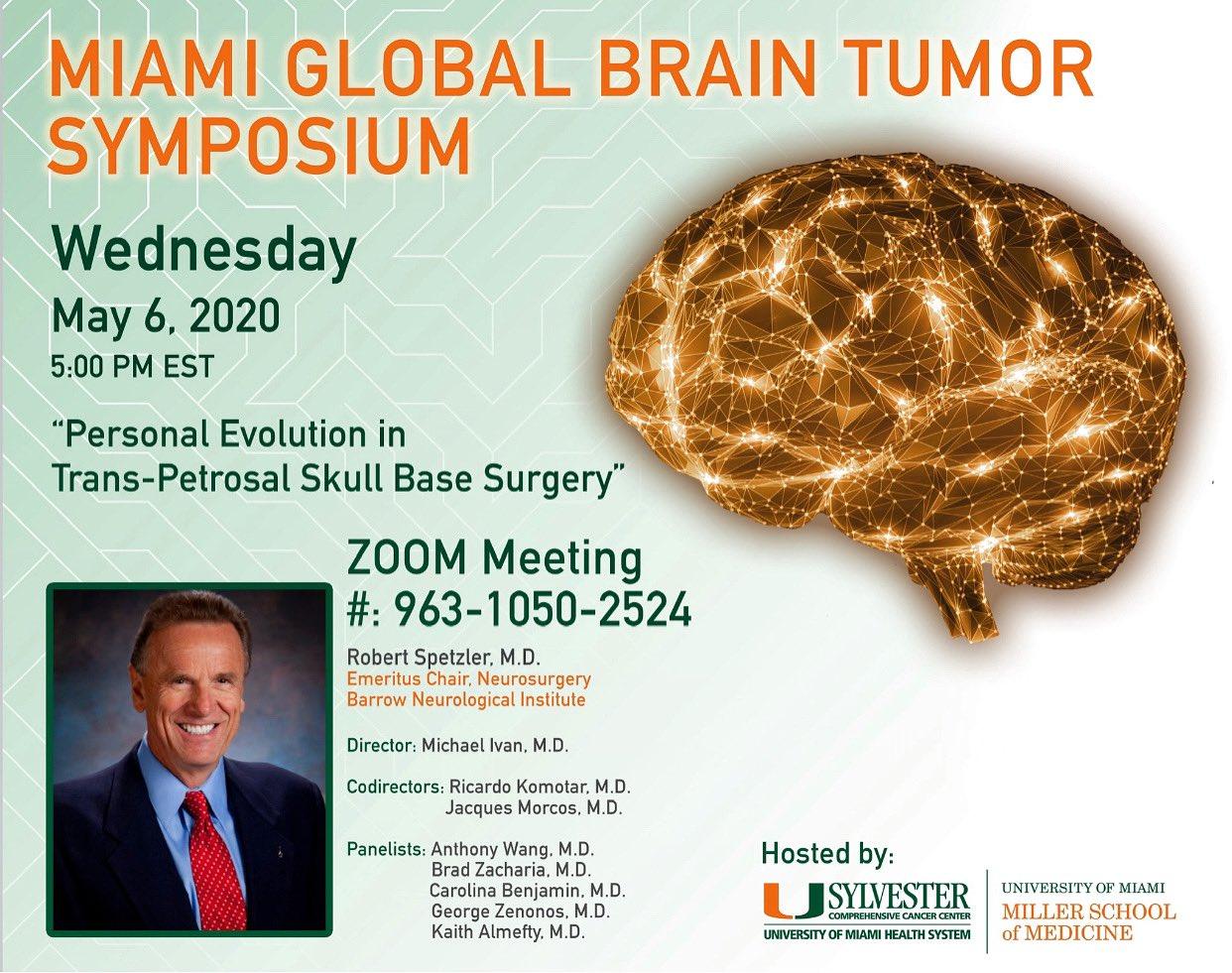 Global Brain Tumor Symposium Course 2020