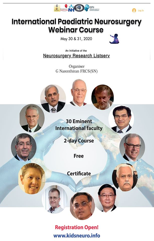 International Pediatric Neurosurgery Course 2020