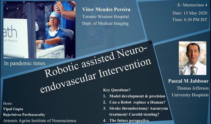 Robotic Assisted Neuroendovascular Intervention