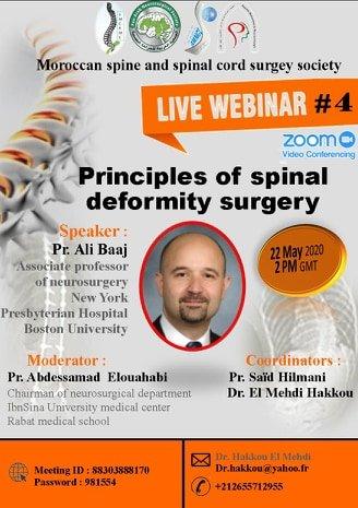 Principles of Spinal Deformity Surgery