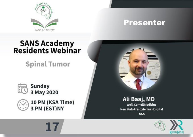 Spinal Tumors course 2020