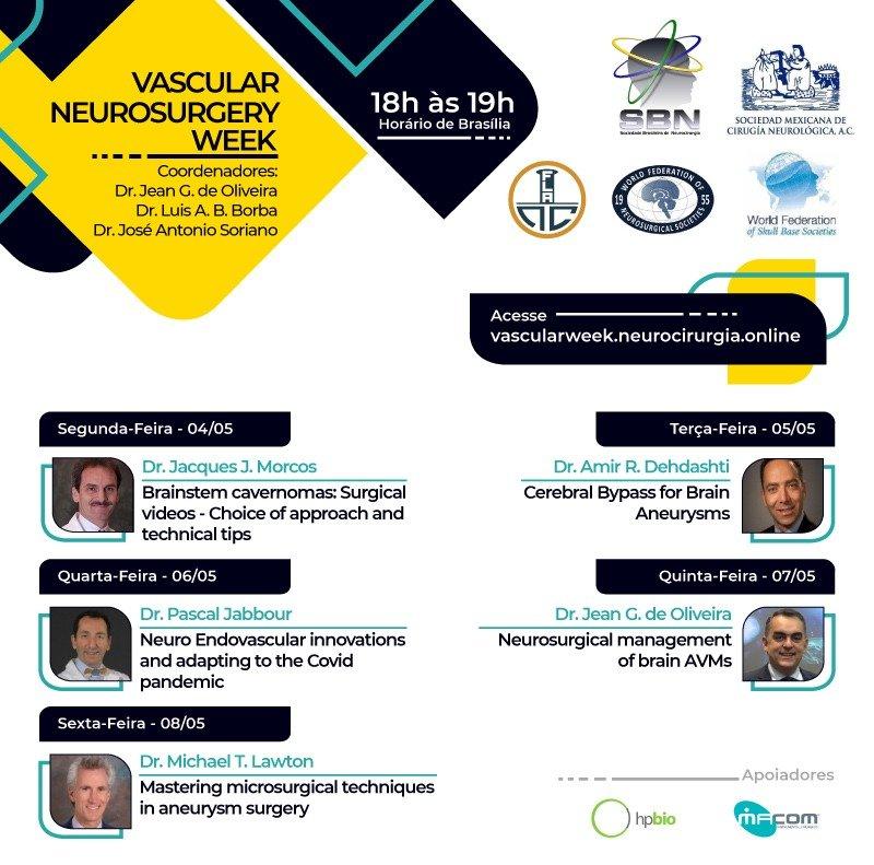 Vascular Neurosurgery Week 2020