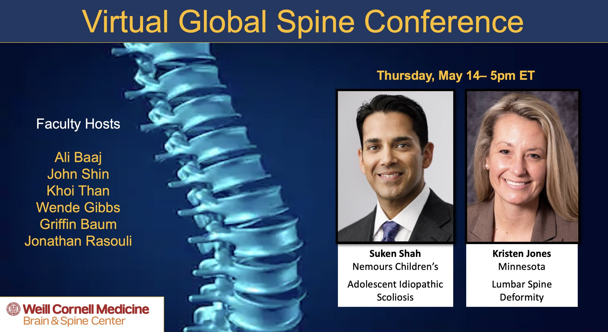 Virtual Global Spine Conference 2020