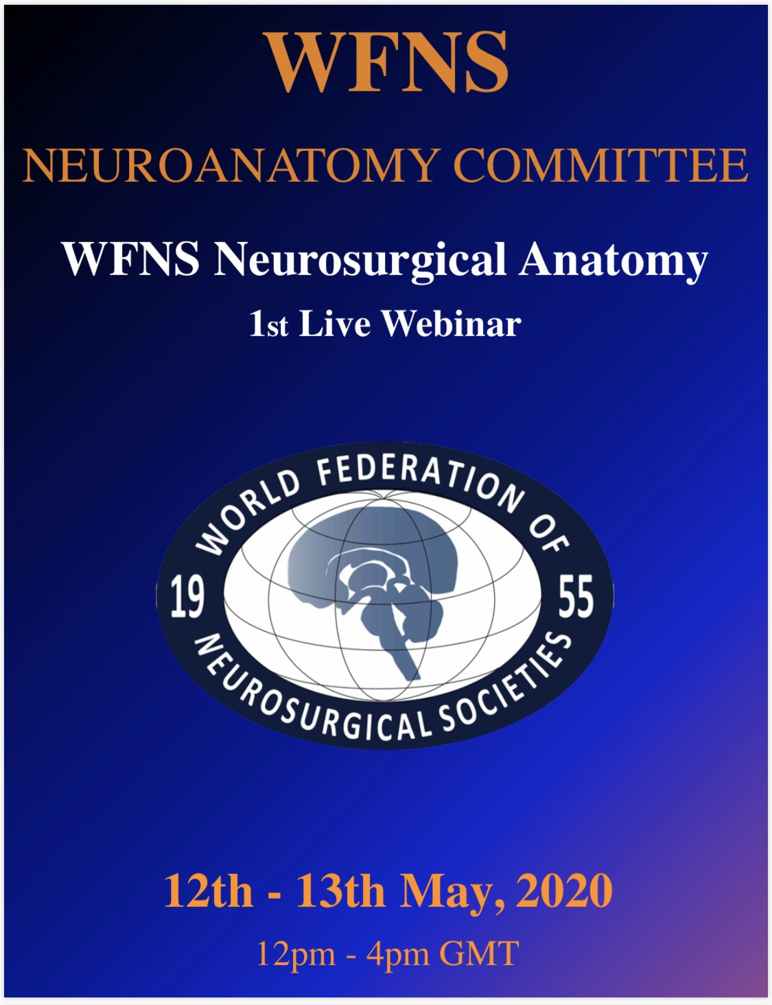 WFNS Neurosurgical Anatomy Webinar