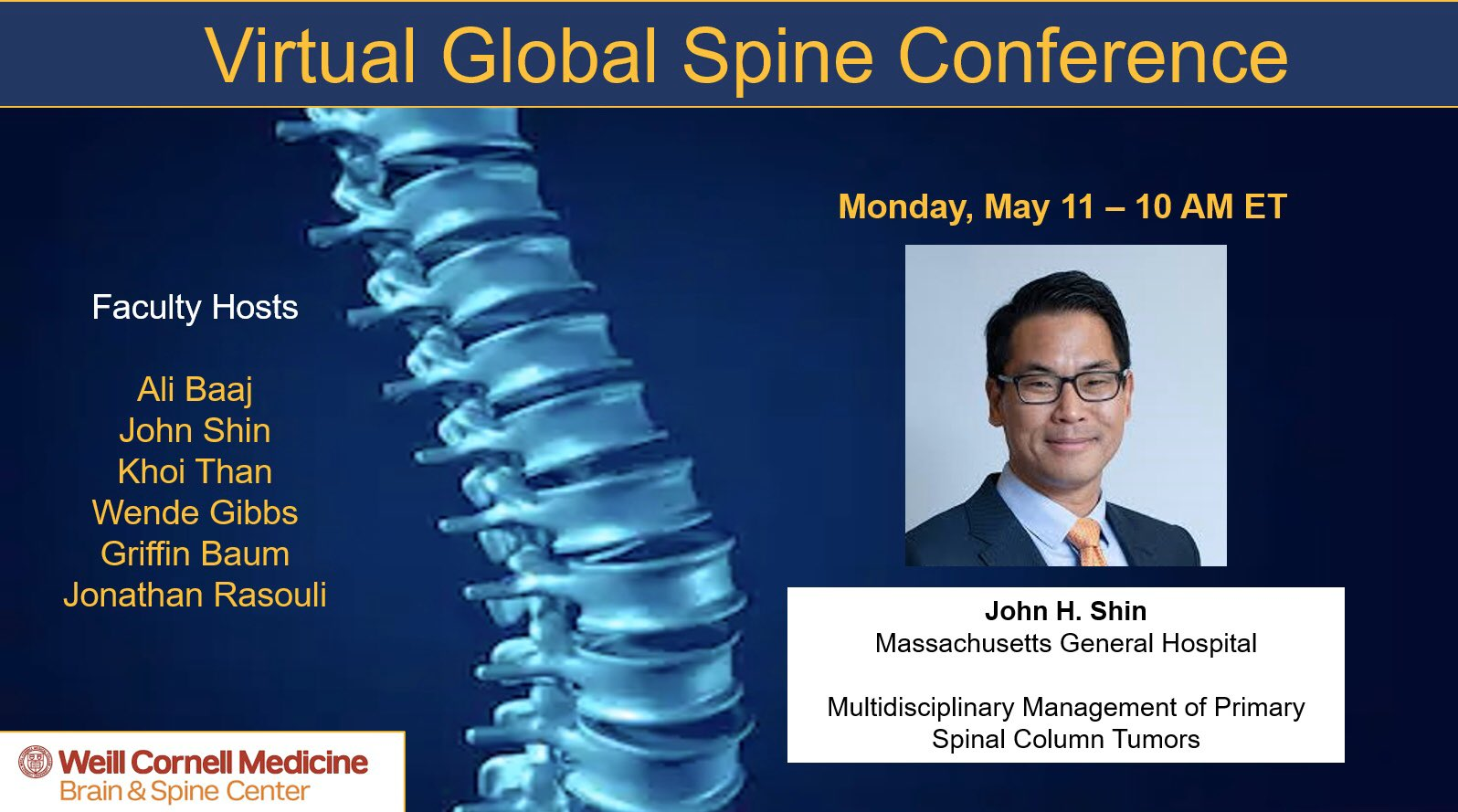 virtual global spine conference