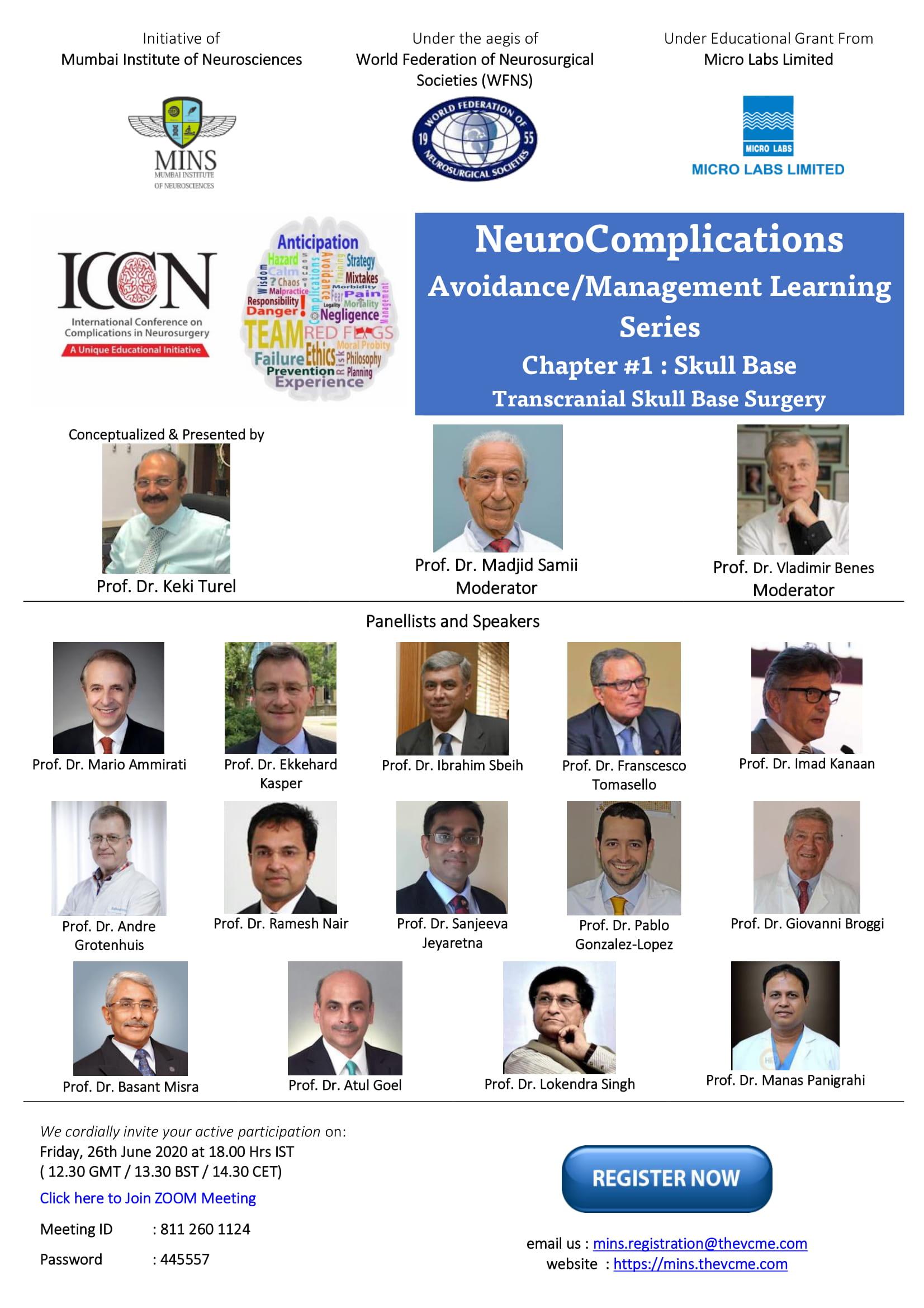 Complications Avoidance in Neurosurgery