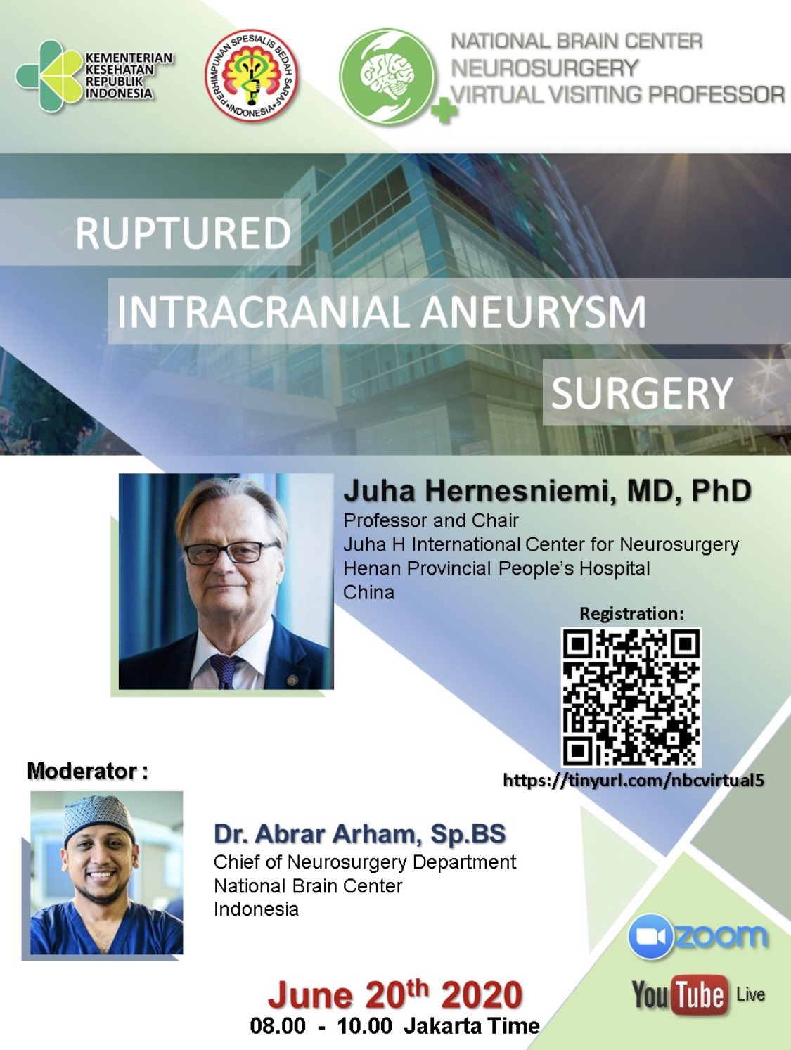 Ruptured Intracranial Aneurysm Surgery