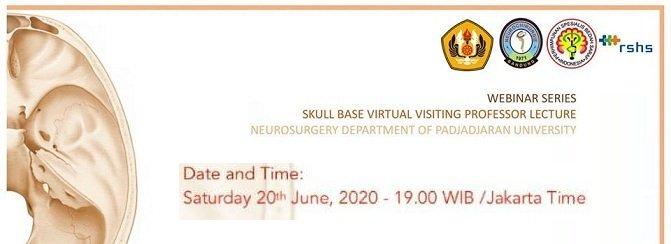 Skull Base Virtual Visiting Professor