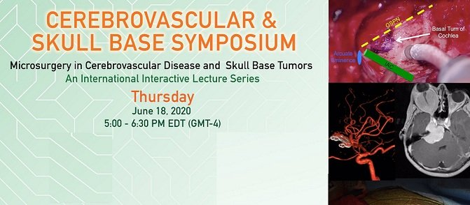 Cerebrovascular & Skull Base Symposium Week 5