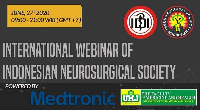 International Webinar Of Indonesian Neurosurgery Society
