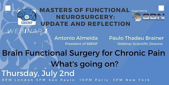 Masters of Functional Neurosurgery Week 1